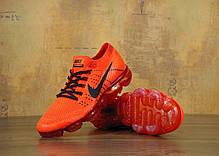 Мужские кроссовки Nike Vapor Max оранжевые топ реплика, фото 3