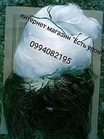 Сеть рыболовная одностенная 100м х 5м., ячейки (65,70) со вшитыми грузами, для промышленного лова