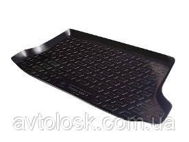 Коврик в багажник резино-пластиковый Chevrolet Spark III hb (10-)