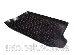Коврик в багажник резино-пластиковый Citroen C3 hb (02-), C3 mk II hb (09-),C3 Picasso (09-)
