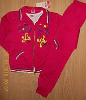 Спортивные  трикотажные костюмы-тройки для девочек, 140, 146