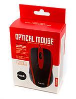 USB проводная оптическая мышка мышь Havit HV-MS753 Red, фото 1