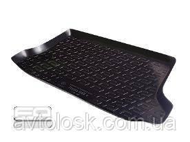 Коврик в багажник резино-пластиковый Peugeot 207 hb (06)