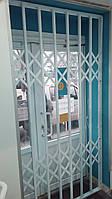 Раздвижные решетки белые RAL 9003