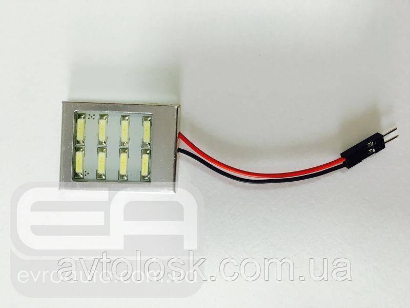 Светодиодная панель сверхъяркая DL 8SMD 7014