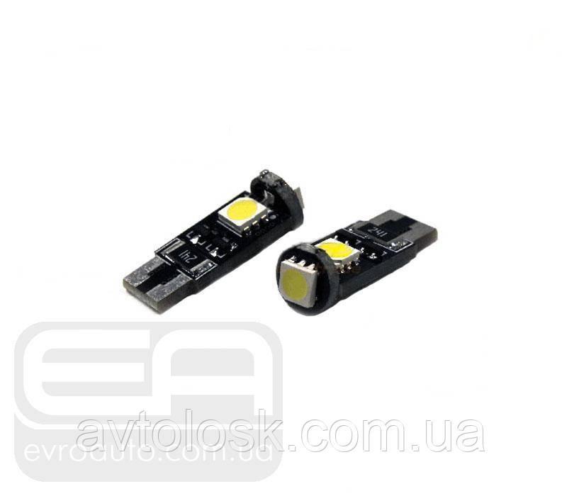 Світлодіодна лампа SVS W5W 3SMD