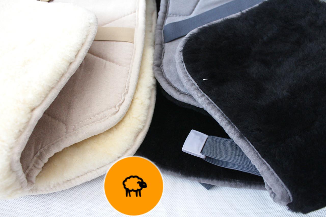 Меховые накидки на сиденья из натуральной овчины - Автосемья - Автоаксессуары для вашего авто в Одессе