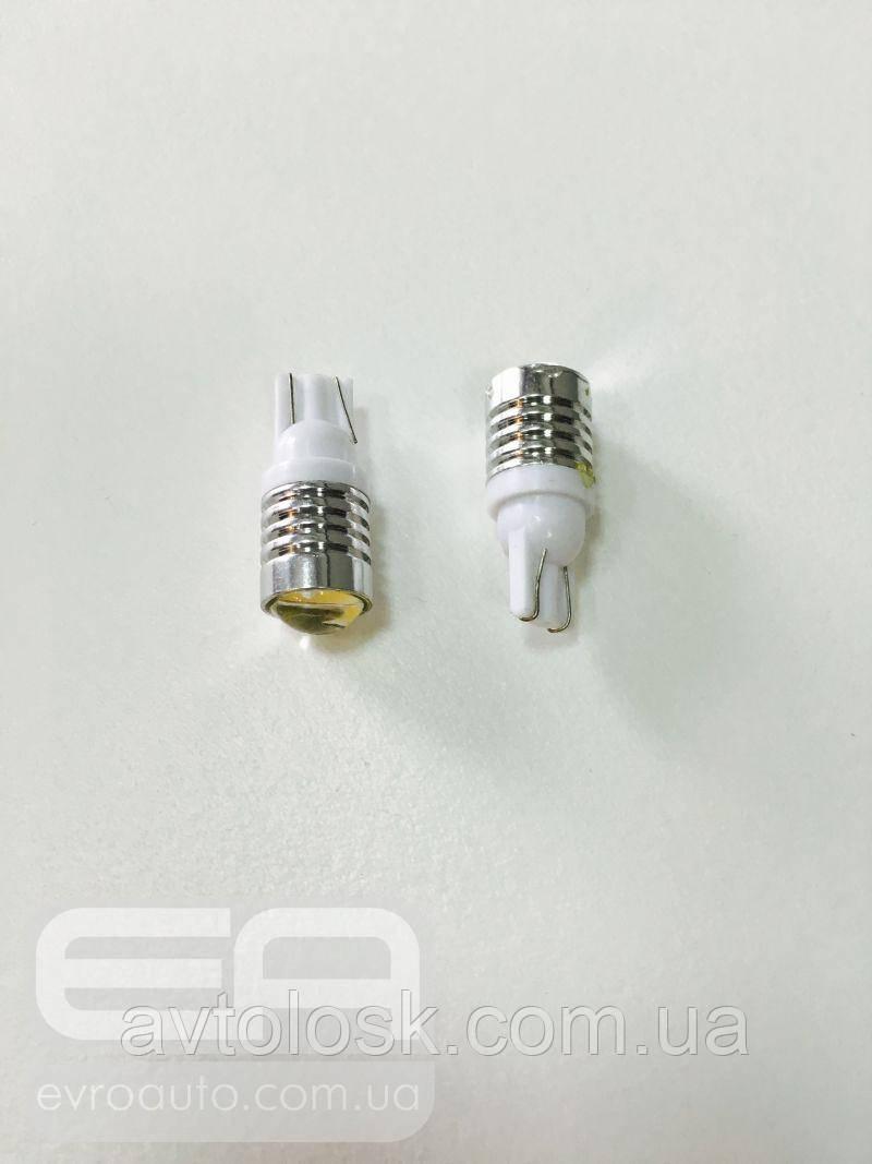 Світлодіодна лампа T-10 HP 3w 3SMD 7014