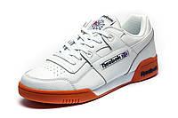 Кроссовки мужские белые Reebok Workout Plus R12, р. 44 45