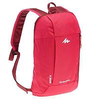 Фирменные рюкзаки Quechua Arpenaz 10L - 10 вариантов цвета! малиновый, 10.0