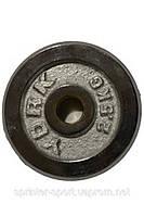 Диск для штанги,гантели хромированный YORK. Вес 2,5 кг. D-26 мм. DY-2.5