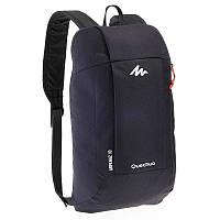 Фирменные рюкзаки Quechua Arpenaz 10L - 10 вариантов цвета! Черный, 10.0
