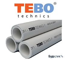 Трубы Tebo полипропиленовые Pn20 не армированная