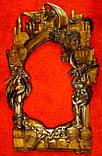 Рама резная для зеркала Драконы (Игры престолов) 120*70 см, фото 3