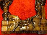Рама резная для зеркала Драконы (Игры престолов) 120*70 см, фото 4