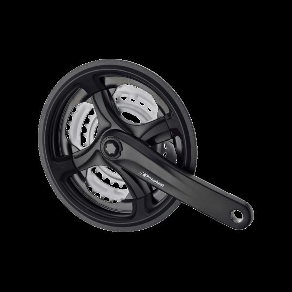 Шатуны PROWHEEL TY-CM99 48/38/28 170мм, черные