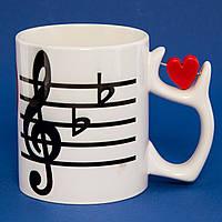 Чашка I love music