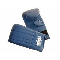 Перчатки для работы с мешком PVC World Sport M