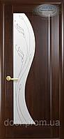 Межкомнатная дверь Эскада со стеклом и рисунком Р-2