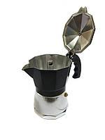 Кофеварка гейзерная 3 чашки R16590 Black