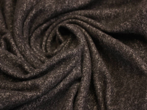 Трикотаж ангора шоколадная меланж, фото 2