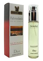 Мужской  мини-парфюм с феромонами Christian Dior Fahrenheit (Кристиан Диор Фаренгейт) ,45 мл
