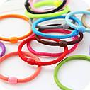Резинка-жгут цветная 100 шт/уп, фото 4