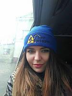 Шапки с логотипом, зимние шапки разных цветов