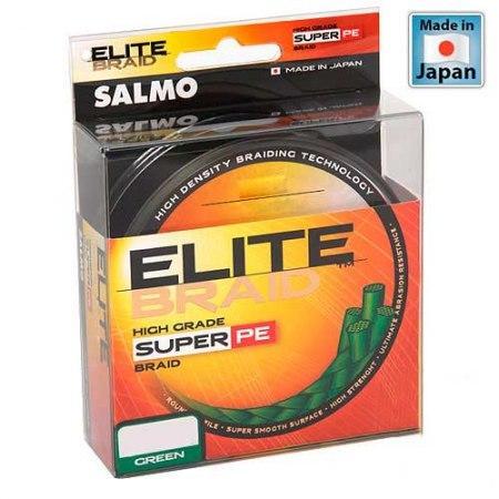 Жилка плетена Salmo ELITE BRAID Green  125/009  (інд.уп/ *5) (4814-009)