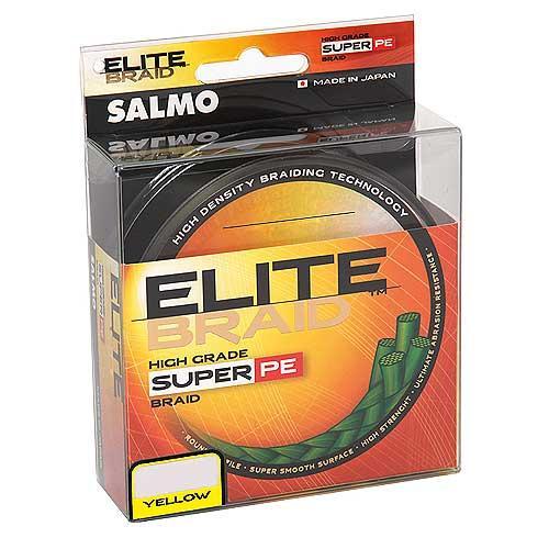 Жилка плетена Salmo ELITE BRAID Yellow  125/024  (інд.уп/ *5) (4818-024)