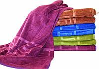 Велюровое банное полотенце №Б2361