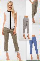 """Женские брюки """"Лён-Джинс"""" - 4 цвета -, фото 1"""