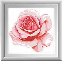 Алмазная живопись Dream Art Роза (квадратные камни, полная зашивка) (DA-30310) 30 х 30 см