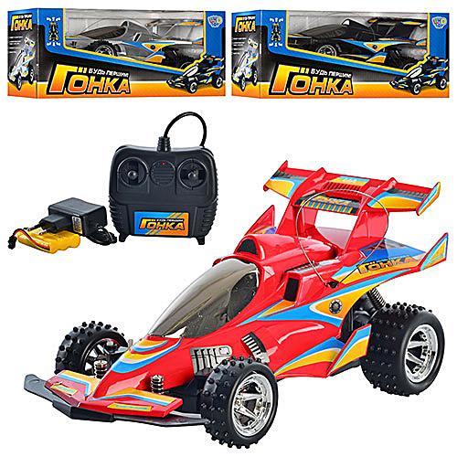 Детские Радиоуправляемые машинки Гонка M0360U/R -р/у, на аккум., гонка, 3 цвета, резин.колеса, в коробке