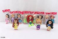 """Кукла """"Принцесса"""" L2015-81A (720шт/3) 12видов, в пак. 13см"""