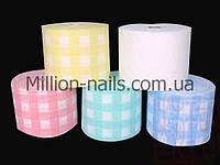 Салфетки в рулоне цветные, 100 шт