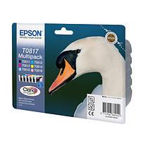 Оригинальный набор картриджей Epson T0817 (C13T11174A10)
