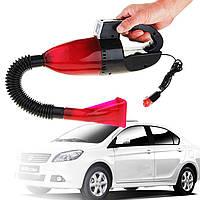 Вакуумный Авто Пылесос с Фонарем Vacuum Cleaner, фото 1