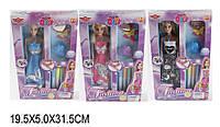 """Кукла типа """"Барби""""Модельер"""" 6608/A/B(1496737-41-42) (72шт/2) 3 вида, с аксесс,фломастер"""