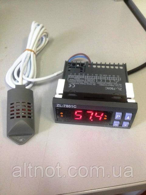 Контроллер для инкубатора  LILYTECH  ZL-7801С