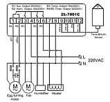 Контроллер для инкубатора  LILYTECH  ZL-7801С, фото 3
