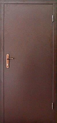 Металлические входные двери Техно 2 утепленные на улицу и в тамбур, фото 2