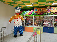Оформление воздушными шарами детского центра