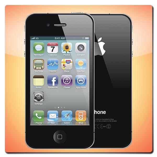 Китайский iPhone 4G (айфон 4)
