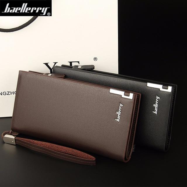 66fafff94179 Мужской клатч, портмоне, кошелек, бумажник Baellerry. Отличное качество.  Доступная цена. Дешево. Код: КГ1942