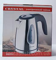 Дисковый чайник Crystal CR-1713 с LED подсветкой DJV/51