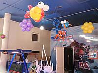 Оформление воздушными шариками детского центра в Морском стиле