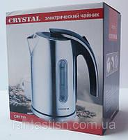 Дисковый чайник Crystal CR-1719 с LED подсветкой