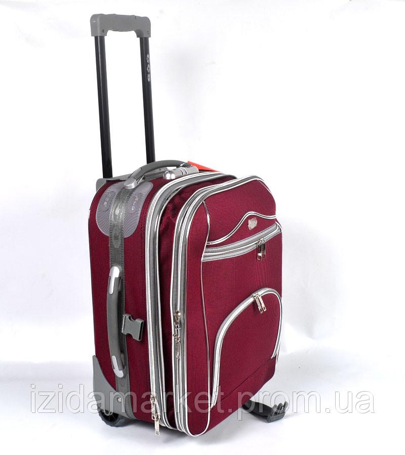2d52d328991d Бардовый чемодан дорожный на колесах фирмы CCS - ИЗИДАмаркет в Хмельницком