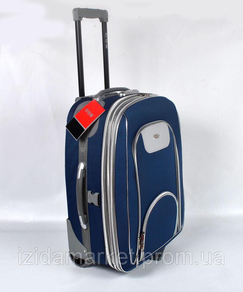 cf7489d9cc98 Синий чемодан дорожный на колесах фирмы CCS, цена 1 450 грн., купить ...